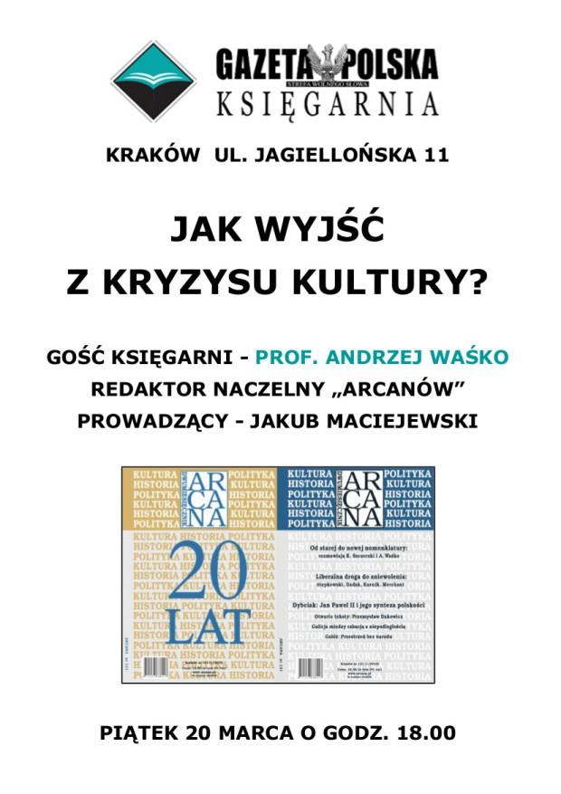 Spotkanie z prof. Andrzejem Waśko