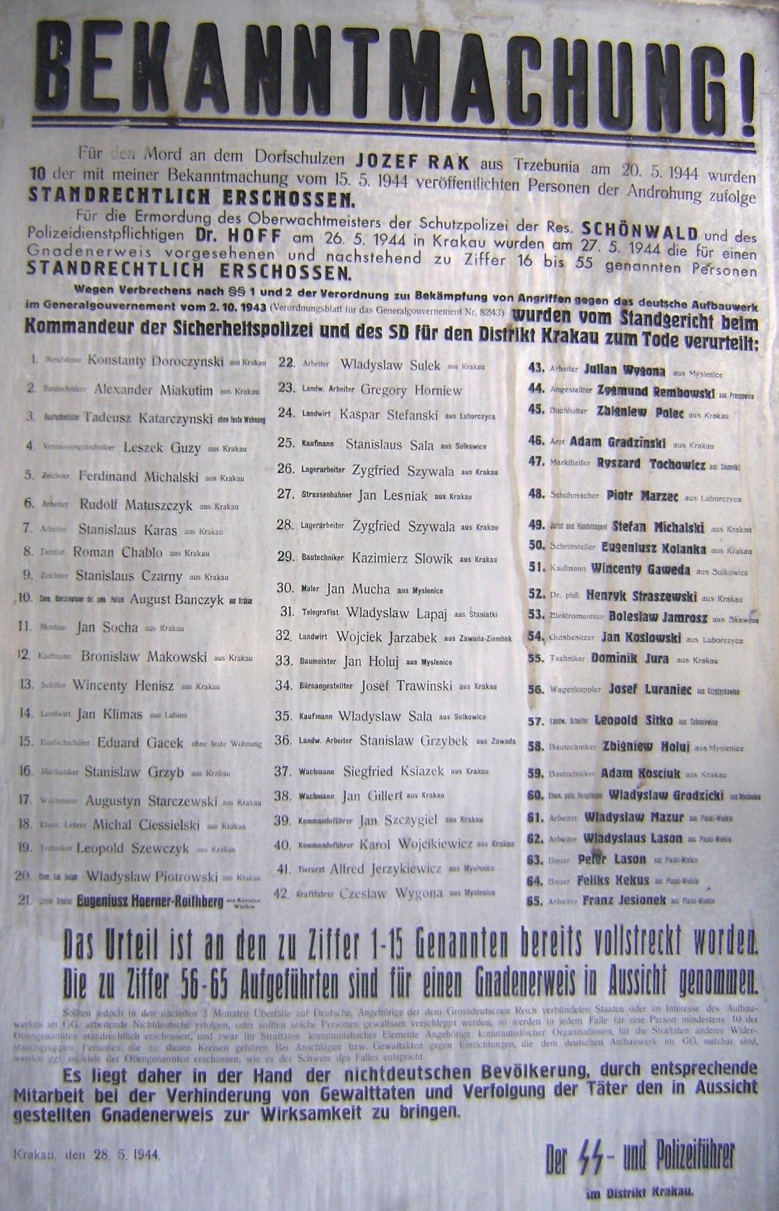stan wojenny po niemiecku